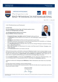 Kontakt up-to-date Zeitung fr Bad Wimsbach-Neydharting